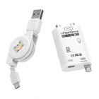 XHS-018 2-in-1 USB / Micro USB / Samsung 30-Pin OTG Card Reader