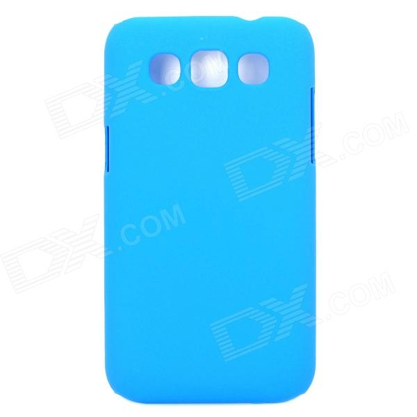 Stylish Protective PC Back Case for Samsung i8552 - Sky Blue