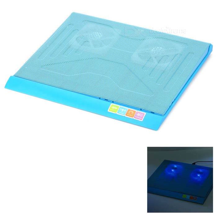 Q3 USB 2-Fan Cooling Pad for 14~15