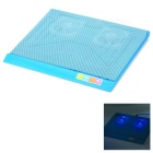 "Q3 USB 2-Fan Cooling Pad for 14~15"" Laptop Computer - Blue"