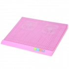 "Q3 USB 2-Fan Cooling Pad for 14~15"" Laptop Computer - Pink"