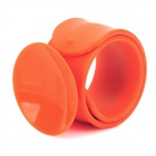 Multifunctional Flexible Tape Mobile Phone Wrist Suction Cup Holder - Orange