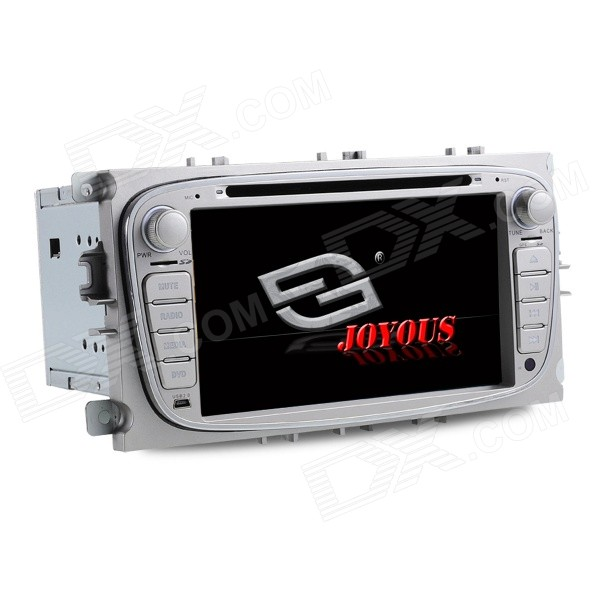 Joyous 2008-2011 Ford Focus CAR DVD Player w/ GPS, FM/AM Radio, BT, Steering Wheel Control