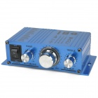 TELI-A6 Hi-Fi Stereo Audio Amplifier for Car / Motorcycle / Boat - Blue