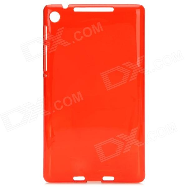 Protective Plastic Back Cover for Google Nexus 7 II - Red