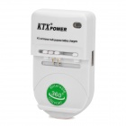 360 Degrees Rotation Universal Charger - White (US Plug / 100~240V)