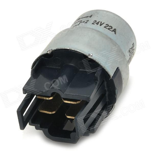 SENCART 90987-02003 Car Electronic LED Flasher Relay - Black + Silver 2pcs cf18 kt led flasher 8 pin adjustable relay module fix auto car signal error flashing blinker 81980 50030 06650 4650 150w
