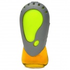 09583 Car Air Outlet Freshener Liquid Perfume Fragrance - Grey + Fluorescent Green (Ocean Flavor)