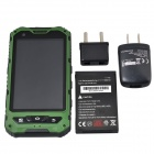 "Somin A8 tre-Proofing Android 4.2.2 telefon med 4.0"", GPS, Wi-Fi, FM, kamera - Green + Black"