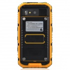 "Somin A8 Rugged Waterproof 4.0"" Android 4.2.2 Phone w/ 512MB RAM, 4GB ROM, GPS - Yellow + Black"