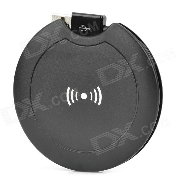 Portable QI Wireless Charger for Nokia 920 Nexus 4 N7100 universal qi wireless charger for cellphone black