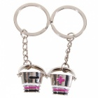 Stainless Lovers keychains (Barrels / 2-Piece Set)