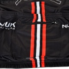 NUCKILY ZH044 Outdoor Cycling Long-Sleeve Jersey Clothes - Black (Size XL)