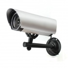 e-J RL-008 Simulation Dummy Anti-theft CCTV Camera Monitor - Black + Silver (2 x AA)