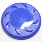 Durable Plastic Pet Frisbee - Blue