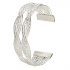 Silber Plating Alloy Armband - Silber