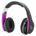 GBLUE G3S Bluetooth V3.0 + EDR Headset w/ Microphone - Black + Purple