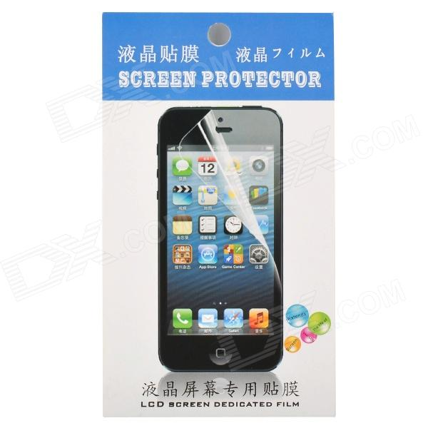 Protective Clear PET Screen Guard Film for Iphone 5C - White top lcd iphone 5c