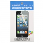 Protective Clear PET Screen Guard Film for Iphone 5C - White