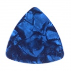 0.46mm Celluloid Guitar Pick - Deep Blue