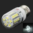 LeXing E27 3W 200lm 7000K 27-5050 SMD LED White Light Corn Lamp (220~240V)