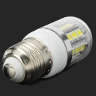 LeXing E27 3W 200lm 7000K 27-5050 SMD Cold White Light Corn Lamp