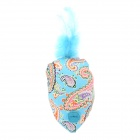 Doglemi DM20004 Gold Fish Style Cotton Cloth Toy for Pet Cat - Blue