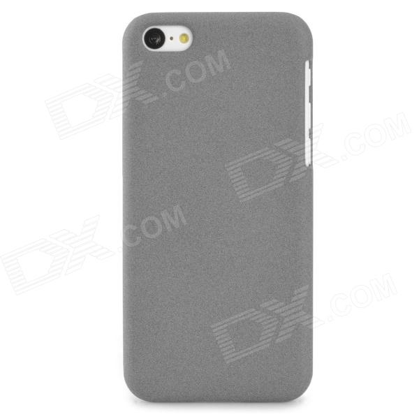 PUDINI WB-IP5c Protective Plastic Back Case for Iphone 5C - Grey pudini wb ip5c protective pc back case for iphone 5c translucent white
