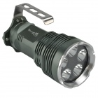 SingFire SF-316 5 x Cree XM-L T6 3000lm 5-Mode White Flashlight - Deep Green (4 x 18650)