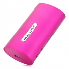 KULUO KW-U7 5200mAh 3G Wi-Fi Wireless Storage Router & Mobile Power - Fuchsia