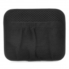 Mesh Nylon Sticky Car Storage Bag w/ Adhesive Tapes - Black