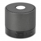 Y-LY Portable Bluetooth V4.0 2-Channel Bass Speaker w/ Microphone - Black