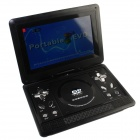 "FJD-760 Portable 13.1"" LCD Mobile DVD Player w/ TV, FM, SD Card Reader, Game and USB - Black"