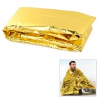 Free Soldier Outdoor Emergency PET Film Lifesaving Insulation Blanket - Golden