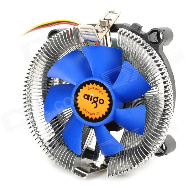 Aigo M6 CPU Cooling Fan for LGA1155 / 1156 / 775 / AMD Series - Silver + Blue эпилятор rowenta ep8002f0