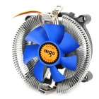 Aigo M6 CPU Cooling Fan for LGA1155 / 1156 / 775 / AMD Series - Silver + Blue