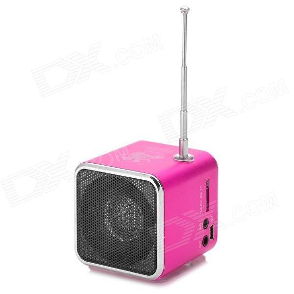 Td v26 portable mini 1 0 altavoz lcd w mp3 fm radio for Aeiou el jardin de clarilu mp3
