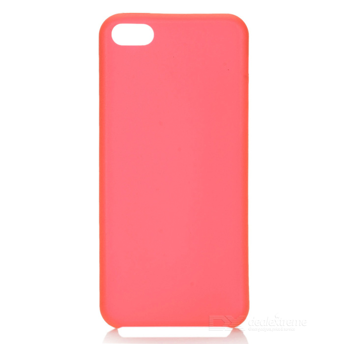 Funda protectora delgada PC para Iphone 5C - Rojo