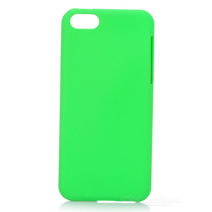 Protective PC Back Case for Iphone 5C - Green стоимость