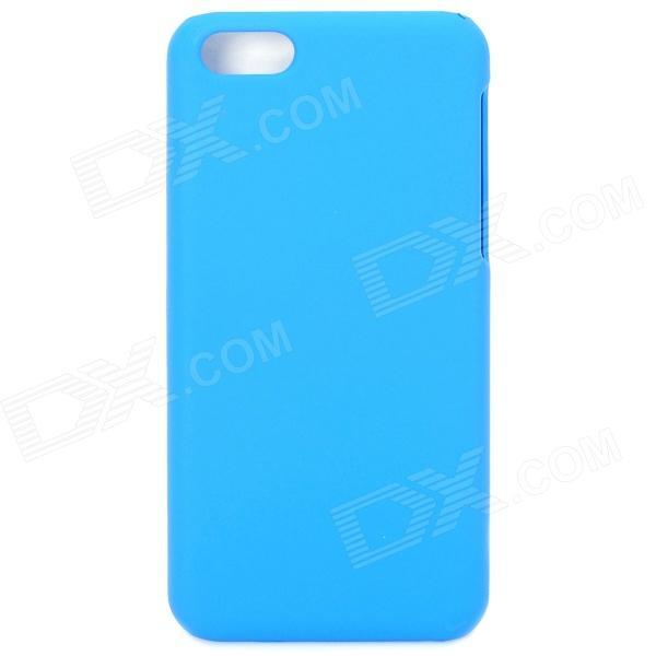 Protetora de plástico de volta caso para Iphone 5C - Blue Light