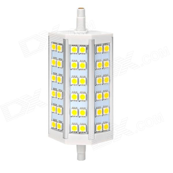 ZnDiy-BRY R7S 8W 400lm 3000K 36-5050 SMD LED Warm White Project Lamp / Spotlight - White + Yellow r7s 15w 5050 smd led white light spotlight project lamp ac 85 265v