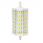 ZnDiy-BRY R7S 8W 400lm 3000K 36-5050 SMD LED Warm White Project Lamp / Spotlight - White + Yellow