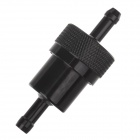 Universal Aluminum Alloy Motorcycle Modification Car Fuel Filter - Black