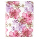 CT1211001 Lucky Flower Pattern Protective PU Leather Case for Ipad 2 / 3 / 4