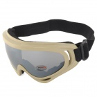 X400 Outdoor Sports Windproof Tactical Goggles - Earthy