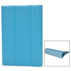 XUNDD Protective 3-Fold PU Leather Magnetic Case for Ipad MINI - Blue