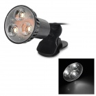 5V USB Powered 3-LED Night Reading Lamp - Black