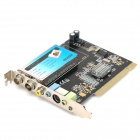 TV074A  TVR PCI TV Tuner Card w/ FM / AV - Black + Multicolored