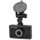 "3.0 ""TFT 5.0MP CMOS 1080P FHD Car DVR Camcorder w / Motion Detection, TF, HDMI, G-Sensor - Schwarz"
