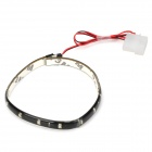 QW-372 Low Power Consumption LED Blue Light Strip - Black (12V)